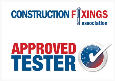 Constructions Fixings Approved Tester